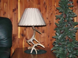 <h5>Small Whitetail Antler Lamp</h5>