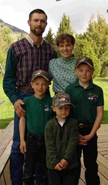 <h5>The Petrich Family 2004</br>Randy, Dena, Zach, Zane and Zander  </h5><p>2004</p>