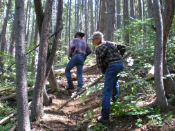 <h5>Trail Work on the Ranch...  </h5>