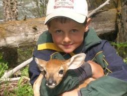 <h5>Zander and Bambi  </h5>