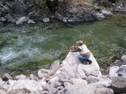 <h5>Fishing Mill Creek...</h5>