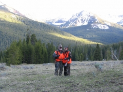 <h5>Ron and Ruth enjoying a piece of God's country  </h5><p>5/19/2005</p>