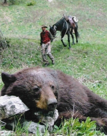 <h5>2004</br>Bouma Bear Hunt </h5>