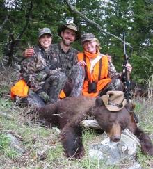 <h5>Dena, Randy, Rutha</br>nd the Cowboy Bear  </h5><p>5/21/2005</p>