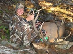 <h5>2010</br>Zane's 1st Archery Elk!</h5>