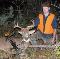 <h5>20008<br/>Zach's 1st Archery Harvest!</h5>