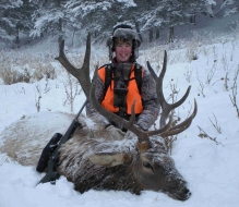 <h5>2010</br>Zach's 1st Elk!</h5>