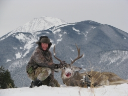 <h5>2010</br>Zach's 1st Muley!</h5>