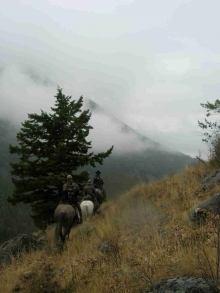 <h5>Bowhunting in the high country!</h5>