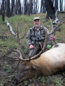 <h5>2010</br>Steve Witmer</h5><p>1st Elk Hunt Winfield, PA 9/22/2010</p>