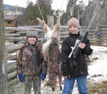 <h5>2009</br>Zane's 1st Coyote</h5>