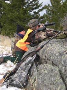 <h5>Glassing for a Muley Buck</h5>