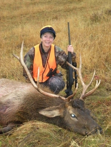 <h5>2008</br>Jeanne Catt's 1st Elk</h5><p>Gaylord, MI</br> 11/7/2008</p>