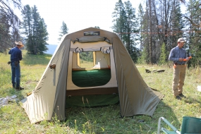 <h5>Our new Artic Oven tent</h5>