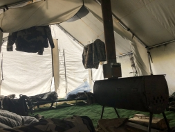 <h5>2018</br>Cozy Camp</h5>