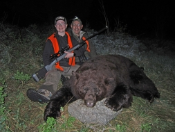<h5>Baylee with Dad, Mark</h5><p>Big Chocolate Boar</p>