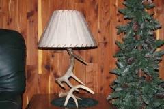 Small Whitetail Antler Lamp